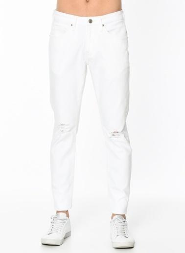 Mavi Jean Pantolon | James - Super Skinny Beyaz